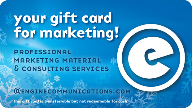 Gift Card for Marketing